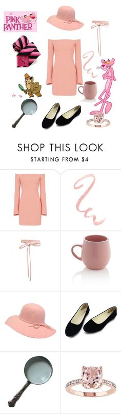"""""""Pink Panther"""" by coloradocutie ❤ liked on Polyvore featuring Cinq à Sept, Thomas Pink and Sabichi"""