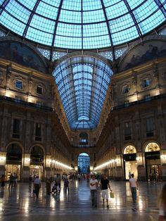 Galleria Vittorio Emanuele ~ Milan, Italy