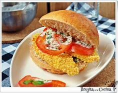 Bocata de pollo con salsa tártara   Cocinar en casa es facilisimo.com