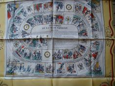 Game of Napoleon silk scarf