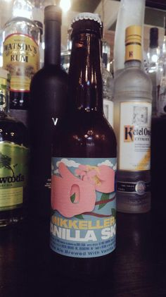 Its #ipaday on thurs, so each day we are going to show some of our best.  Today is Vanilla Sky from @MikkellerBeer