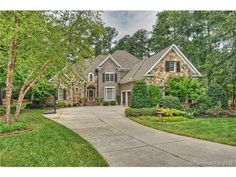 """BEAUTIFUL NEW LISTING IN """"The Point at Trump National Charlotte""""  704-235-3000 www.TheTempleTeam.com  #thetempleteam   103 White Crest Court, Mooresville, NC 28117 - MLS/Listing # 3019995"""
