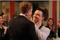 Photo of Ian and Mickey's Wedding on Shameless Had Every Gallavich Fan in Tears Shameless Memes, Watch Shameless, Shameless Characters, Shameless Mickey And Ian, Shameless Tv Show, Ian And Mickey, Noel Fisher Twilight, Cameron Monaghan, Delena