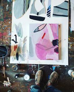 #studio on a Wednesday...Sarah Boyts Yoder