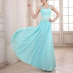 Buy 'Luxury Style – Sleeveless Lace Rhinestone A-Line Evening Gown' with Free International Shipping at YesStyle.com. Browse and shop for thousands of Asian fashion items from China and more!
