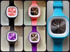 Hello Somebody watches from their #hellofreedom initiative (new colors! so pretty)