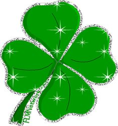 By Jackie Helton, the Music Mama If you're Irish or you love a good St. Patrick's Day party, then this playlist is definitely for you. Animiertes Gif, Clover Tattoos, Four Leaves, Irish Blessing, Happy St Patricks Day, Luck Of The Irish, Crochet Bunny, Four Leaf Clover, Felt Toys