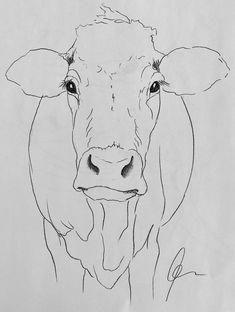 Cow art drawing www hoerskens de – Artofit Animal Paintings, Animal Drawings, Art Drawings, Paintings Of Cows, Drawing Animals, Cow Painting, Painting & Drawing, Pintura Tole, Cow Drawing