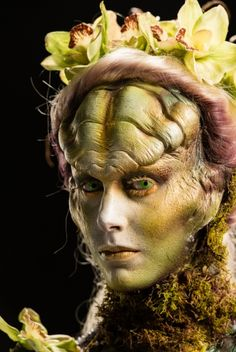 Laura's Looks | Gallery | Face Off | Syfy Face Off Makeup, Makeup Fx, Movie Makeup, Scary Makeup, Alien Makeup, Awesome Makeup, Special Makeup, Special Effects Makeup, Face Off Syfy