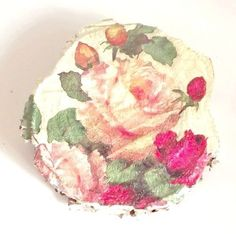 Romantyczne+róże+-+obrazek+na+brzozie++w+ACOYA+JEWELLERY+na+DaWanda.com