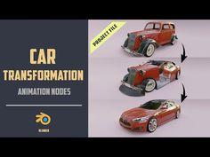 Cinema 4d Tutorial, Animation Tutorial, 3d Tutorial, Blender 3d, Old Vintage Cars, Blender Tutorial, Video Game Development, Game Assets, 3d Artist