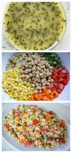 Vegetable Quinoa Salad