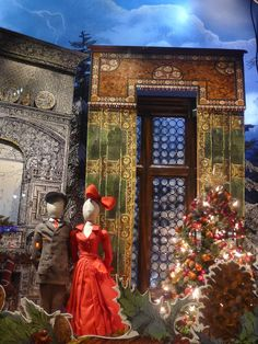 nyc department store xmas windows 2015 - Google Search