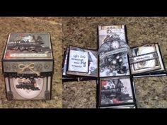 PART 1 TUTORIAL DBS STEAMPUNK DAZE EXPLOSION BOX - DESIGNS BY SHELLIE - YouTube