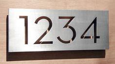 """Palm Springs 6""""x15"""" aluminum plaque"""