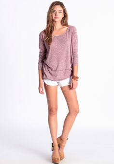 Hazy Days Long Sleeve Top by Free People