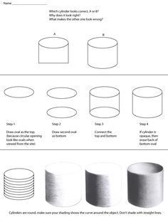 how to draw a cylinder - Bottle Still Life Instructions