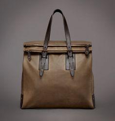 Handbag|Mens Signature Waxed Cotton Dorchester Large Bag|Belstaff