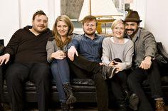 Nicolas Bro, Mille Dinesen, Jonatan Spang, Mille Lehfeldt og Casper Crump.  Copyright SF Film