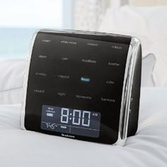 Tranquil Moments Advanced Sleep Sounds    Price: $169.99        Brookstone is proud to sponsor Save the Childrens Moms the Word! Campaign. Well donate $5 for every Tranquil Moments purchase until May 31, 2012. Relaxnaturallyand let Tranquil Moments help you get a great nights sleep. Its 16 soothing sound programs are based on Delta, Alpha or Theta brainwave frequencies. The soun...  http://www.amazon.com/dp/B005OQWMQ0/?tag=pintr105-20