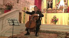 03 Ave María de G. Caccini. A. Antonian (cello) y J.A. Álvarez Parejo (p... Cello, Violin, Our Lady, Piano, Ms, Music Instruments, Roses, Drawing, Painting