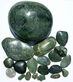 Nephrite Jade, Jade Cove, California