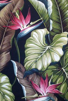 hawaiian floral drapes - Google Search
