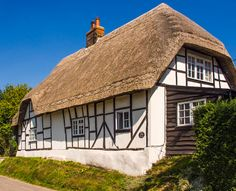 17th century Carina Cottage in Friar's Lane, Urchfront, Wiltshire, England | by Anguskirk.