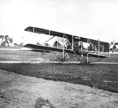 First Aviation flight in Kentucky staged by aviation pioneer Glen H. Curtiss, June 18, 1910 at Churchill Downs,racetrack in  Louisville, Kentucky,. :: R. G. Potter Collection