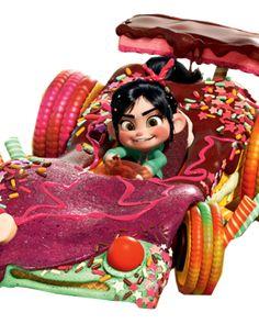 Images of Vanellope von Schweetz from Wreck-It Ralph. Disney Pixar, Disney And Dreamworks, Disney Animation, Disney Art, Disney Movies, Walt Disney, Disney Characters, Disney Wiki, Animation Films