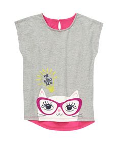 Bright Ideas Kitty Tee $6.00 sale | Gymboree