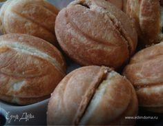 """""""Орешки"""" - фигурное печенье с вареной сгущенкой. Ингредиенты: молоко сгущенное вареное, сахар, вафельная крошка"""