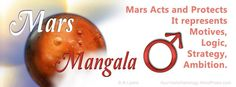 Mars, or Mangala