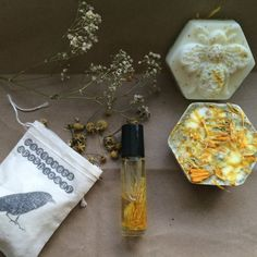 Chamomile & Lavender Earth Child Gift Set by WanderersApothecary
