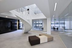 Black Pearl Office Building - Picture gallery #architecture #interiordesign #staircases
