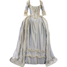 Marie Antoinette Gown - edited by mlleemilee Pretty Prom Dresses, Pretty Outfits, Beautiful Dresses, Nice Dresses, Long Dresses, Royal Dresses, Ball Dresses, Old Fashion Dresses, Women's Fashion