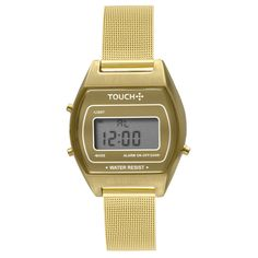58cbdbf6aca Relógio Touch Unissex Novo Olhar Dourado - TWJH02AC 4Y - TouchWatches