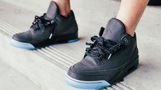 Air Jordan 3 '5Lab3' Black