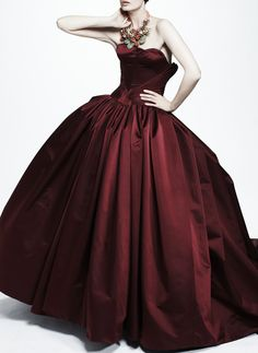 Zac Posen Resort 2013  To be really different to wear for wedding