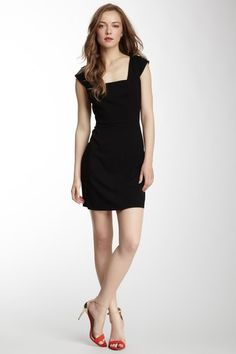 Marc New York Lux Square Neck Sleeveless Dress by Sunny Day Staples on @HauteLook