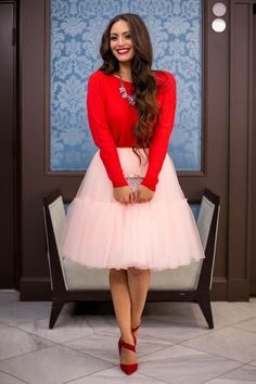"""""""If you've ever dreamed of being a princess, then a tulle skirt is a must-have,"""" Balli says. """"There's just something about tulle that makes you feel super girly and you're guaranteed a fun night out."""""""