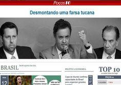 Fora PSDB(Partido Salafrários do Brasil) • PSDB quer censurar site independente de Minas Gerais