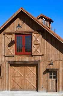Pole Barn House Design Ideas, Pictures, Remodel, and Decor - page 23 Architecture Design, Barn Shop, Barn Apartment, Apartment Plans, Casas Containers, Converted Barn, Barn Renovation, Barn Living, Barns Sheds