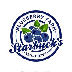 Create a fresh, fun, family friendly logo for Upick blueberry farm! by Anut Bigger