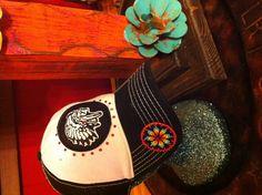 Hat #13-Black Trucker
