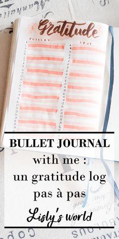 Bullet Journal En Français, Bullet Journals, Bujo, Gratitude, French Lifestyle, Idea Box, Messages, Coin, Business