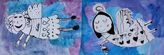 Tvoříme s dětmi ☺ Advent, Snoopy, Winter, Christmas, Kids, Fictional Characters, Jute, Activities, Angel Drawing