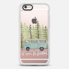 WHITE FREEDOM - New Standard iPhone 6 Case in Clear and Clear by clementine_ds #phonecase | @casetify