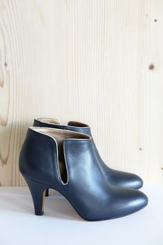 Boots Fifty Five Cuir Azul Patricia Blanchet - Bonny