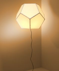 Floating Lamp: with a combination of ultra light plastic and a heating lamp - Floating Lamp does exactly what it says it does! Cool. From Elliott Dahlgren Straat